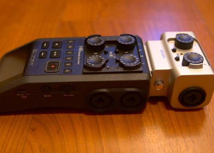 Zoom H6 Handy Sound Recorder with 2 Additional XLRs (EXH-6) - 2
