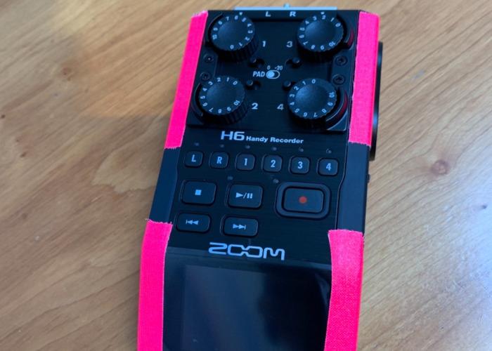 Rent Zoom H6 Recorder + Mic Kit in London