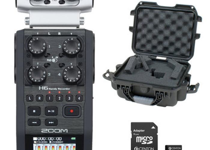 Zoom H6 Recorder w/ 2x Sennhieser AVX Me2 LAV Systems - 1