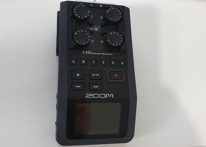 Zoom H6 with Extras  - 1