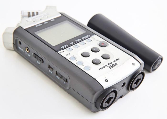 Zoom Handy Recorder H4n + 16GB SanDisk SD Card - 1