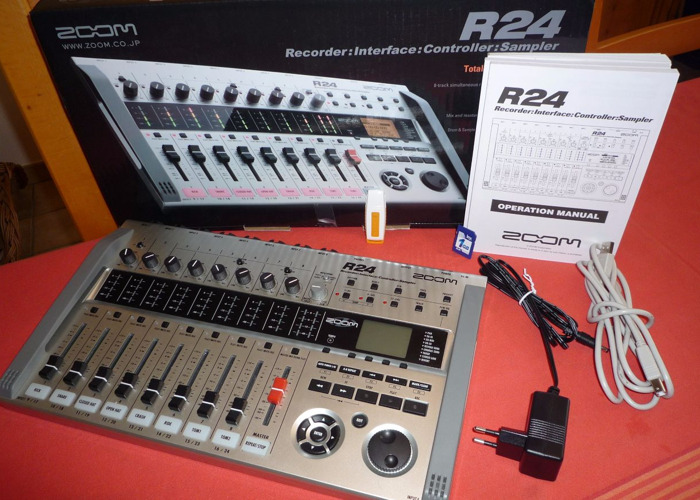 Zoom R24 Multi Track Recording Studio Portable/Digital Mixer - 1