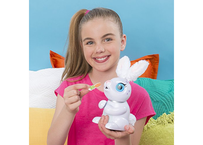 Zoomer - Hungry Bunnies, Chewy, Interactive Robotic Rabbit that Eats, for Ages 5 and Up - 2