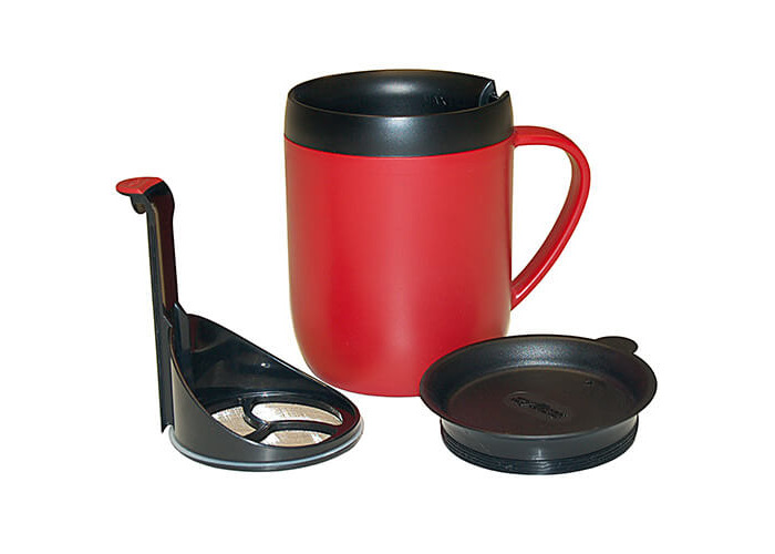 Zyliss Hot Mug Cafetiere Red - 2