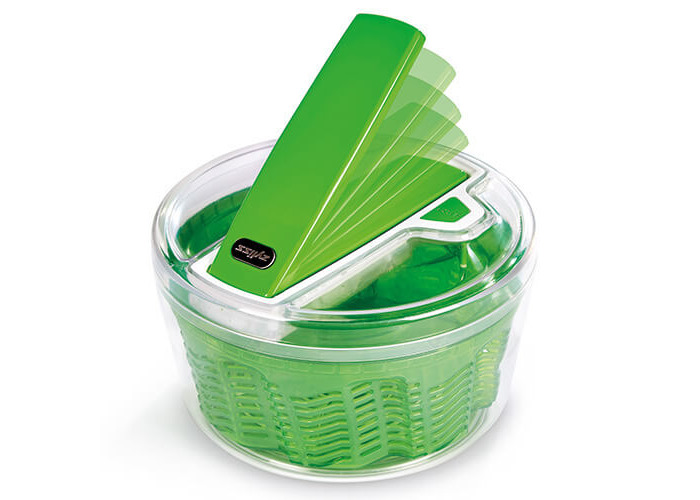 Zyliss Swift Dry Salad Spinner Small Green - 2