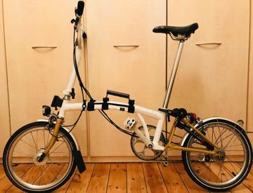 99d12b87bd4 Beautiful Brompton Folding Bike (+ Accessories)