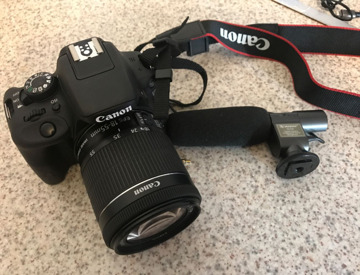 Rent Canon EOS 100D Camera with 18-50mm Lens in London | Fat