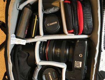 Rent Canon 6d + 24-70mm f4 + 100mm f2+ 40mm f2 8 +