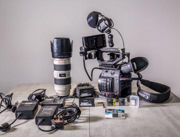Rent Canon C200, 2 x 256GB Cfast, 70-200mm L lens in Cambridge | Fat