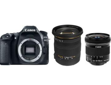 London Canon EOS 80D Hire | Fat Llama