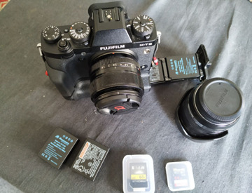 Fuji XT3 Camera Kit