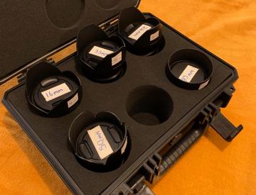 Rent Full Samyang Cine Primes EF Lens Set in New York | Fat Llama