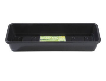Black X-Large Garland GAL07BH1 Seed Tray with Drainage Holes