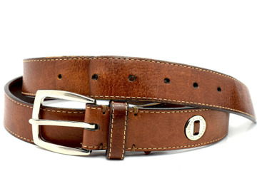Buy Genuine Cole Haan Classic Mens Leather Belt Brown Size