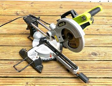 1200W. Guild 210mm Compound Mitre Saw
