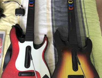 Rent Guitar Hero/Rockband Bundle PS3 in Exeter | Fat Llama