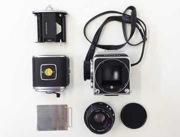 Rent Hasselblad 500CM Medium Format Camera with 80mm Lens in London