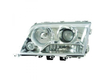 Buy LHD Projector Headlights Pair Clear Black H1 H7 For