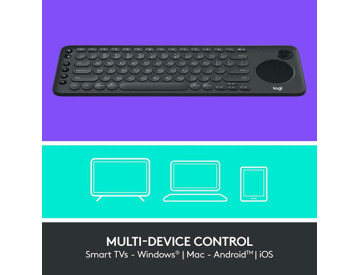 Buy Logitech K600 Keyboard for TV- PC and Mobile Devices 15m