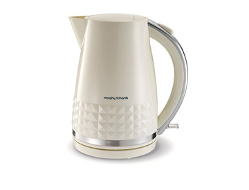RED CREAM ELECTRIC 1.7L JUG KETTLE