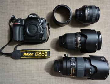 Rent Nikon FX Lens Set 3 | 85 f1 8G + 24-70 f2 8E or 70-200