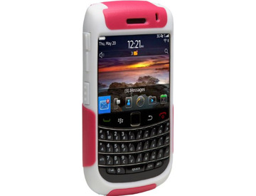 OtterBox Commuter Case for BlackBerry Bold 9700 - Hot Pink/White