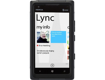OtterBox Commuter Series Case for Nokia Lumia 900 - Black
