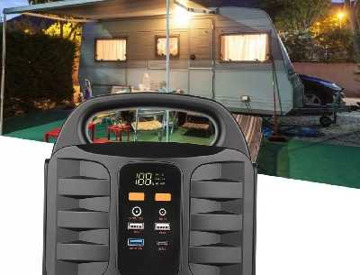 Rent Solar Portable power supply festival camping hiking and more in