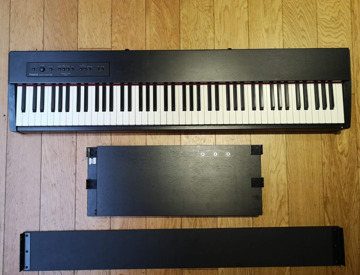 rent roland f 20 digital piano with stand and sustain pedal in london fat llama. Black Bedroom Furniture Sets. Home Design Ideas