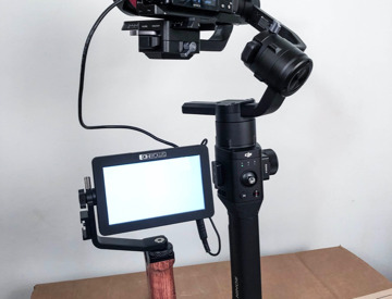 Rent DSLR Shoulder Rig with Fotasy Follow Focus | Fat Llama
