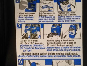 Pro Quick Dry Carpet Cleaning Machine