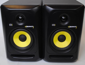 rent studio monitors krk rokit 5 g3 in manchester fat llama. Black Bedroom Furniture Sets. Home Design Ideas