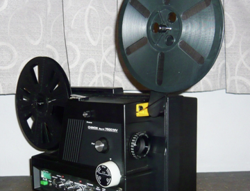 SUPER 8mm Sound projector