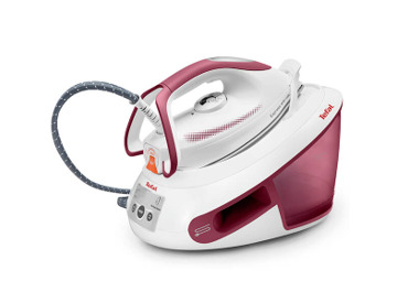 Tefal Access FV1533 2100W Anti-Scale Ceramic Soleplate Steam Iron Red /& White