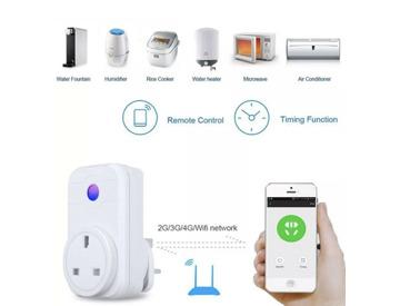 Buy Wi-Fi Smart UK Socket/Plug Alexa Compatible For Echo and