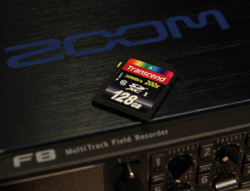 Rent Zoom F8 Multitrack Field Recorder + 128GB SD Card in London