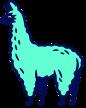 fat llama logo image
