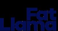 fat llama logo text